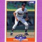 1989 Score Baseball #388 Steve Lyons - Chicago White Sox