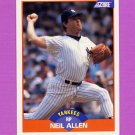 1989 Score Baseball #375 Neil Allen - New York Yankees