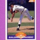 1989 Score Baseball #275 Guillermo Hernandez - Detroit Tigers ExMt