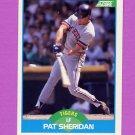 1989 Score Baseball #204 Pat Sheridan - Detroit Tigers