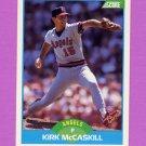 1989 Score Baseball #181 Kirk McCaskill - California Angels