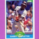 1989 Score Baseball #176 Garry Templeton - San Diego Padres