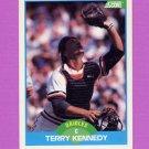 1989 Score Baseball #123 Terry Kennedy - Baltimore Orioles