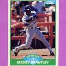 1989 Score Baseball #089 Mickey Brantley - Seattle Mariners