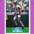 1989 Score Baseball #018 Bill Ripken - Baltimore Orioles ExMt