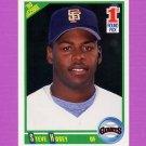 1990 Score Baseball #666 Steve Hosey RC - San Francisco Giants