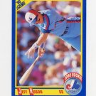 1990 Score Baseball #615 Jeff Huson RC - Montreal Expos