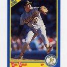 1990 Score Baseball #553 Jim Corsi - Oakland A's