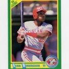 1990 Score Baseball #038 Herm Winningham - Cincinnati Reds