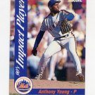 1992 Score Baseball Impact Players #39 Anthony Young - New York Mets