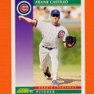 1992 Score Baseball #399 Frank Castillo - Chicago Cubs