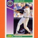 1992 Score Baseball #394 Mark Salas - Detroit Tigers