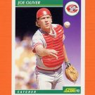 1992 Score Baseball #370 Joe Oliver - Cincinnati Reds