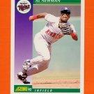 1992 Score Baseball #357 Al Newman - Minnesota Twins