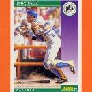 1992 Score Baseball #343 Dave Valle - Seattle Mariners