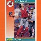 1992 Score Baseball #227 Joel Skinner - Cleveland Indians