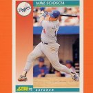 1992 Score Baseball #226 Mike Scioscia - Los Angeles Dodgers