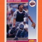 1992 Score Baseball #215 Brian Harper - Minnesota Twins