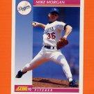 1992 Score Baseball #171 Mike Morgan - Los Angeles Dodgers