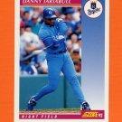 1992 Score Baseball #145 Danny Tartabull - Kansas City Royals