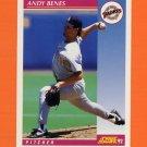 1992 Score Baseball #133 Andy Benes - San Diego Padres