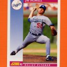 1992 Score Baseball #119 Jay Howell - Los Angeles Dodgers