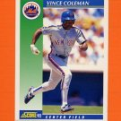 1992 Score Baseball #095 Vince Coleman - New York Mets