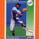 1992 Score Baseball #073 Juan Samuel - Los Angeles Dodgers