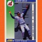 1992 Score Baseball #031 Albert Belle - Cleveland Indians