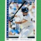 1993 Score Baseball #035 Danny Tartabull - New York Yankees