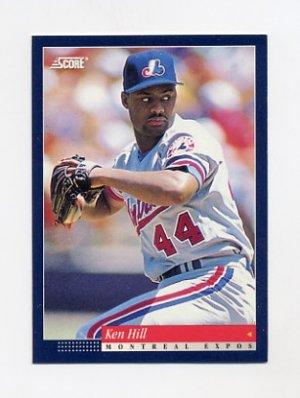 1994 Score Baseball 064 Ken Hill Montreal Expos