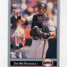 1992 Leaf Baseball #514 Jim McNamara - San Francisco Giants