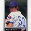 1992 Leaf Baseball #437 Bob Scanlan - Chicago Cubs