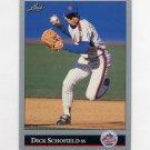1992 Leaf Baseball #419 Dick Schofield - New York Mets