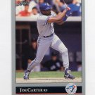 1992 Leaf Baseball #375 Joe Carter - Toronto Blue Jays