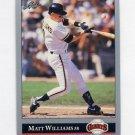 1992 Leaf Baseball #373 Matt Williams - San Francisco Giants
