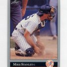 1992 Leaf Baseball #367 Mike Stanley - New York Yankees