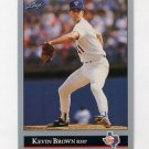 1992 Leaf Baseball #326 Kevin Brown - Texas Rangers