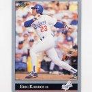 1992 Leaf Baseball #293 Eric Karros - Los Angeles Dodgers