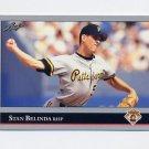 1992 Leaf Baseball #287 Stan Belinda - Pittsburgh Pirates