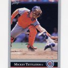 1992 Leaf Baseball #285 Mickey Tettleton - Detroit Tigers