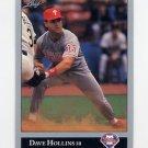 1992 Leaf Baseball #278 Dave Hollins - Philadelphia Phillies