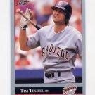 1992 Leaf Baseball #261 Tim Teufel - San Diego Padres