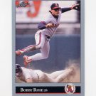 1992 Leaf Baseball #250 Bobby Rose - California Angels