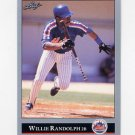 1992 Leaf Baseball #240 Willie Randolph - New York Mets
