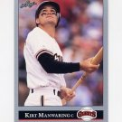 1992 Leaf Baseball #208 Kirt Manwaring - San Francisco Giants