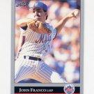 1992 Leaf Baseball #174 John Franco - New York Mets