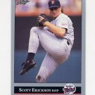 1992 Leaf Baseball #166 Scott Erickson - Minnesota Twins
