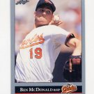 1992 Leaf Baseball #145 Ben McDonald - Baltimore Orioles