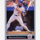 1992 Leaf Baseball #132 Howard Johnson - New York Mets